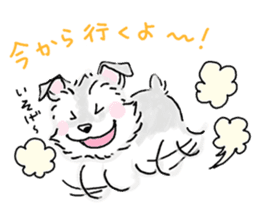Miniature Schnauzer SYU-chan sticker #10959123