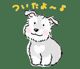 Miniature Schnauzer SYU-chan sticker #10959125