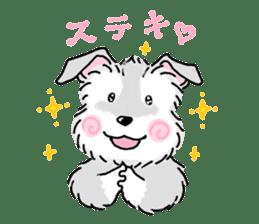 Miniature Schnauzer SYU-chan sticker #10959131