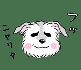 Miniature Schnauzer SYU-chan sticker #10959132