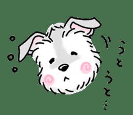 Miniature Schnauzer SYU-chan sticker #10959134