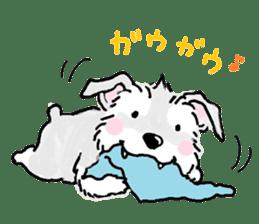 Miniature Schnauzer SYU-chan sticker #10959137