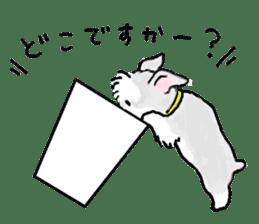Miniature Schnauzer SYU-chan sticker #10959139