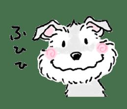 Miniature Schnauzer SYU-chan sticker #10959140