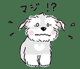 Miniature Schnauzer SYU-chan sticker #10959143