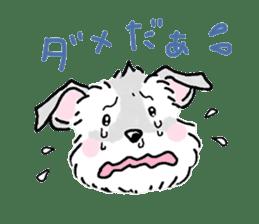 Miniature Schnauzer SYU-chan sticker #10959145