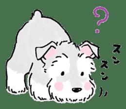 Miniature Schnauzer SYU-chan sticker #10959146