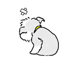 Miniature Schnauzer SYU-chan sticker #10959148