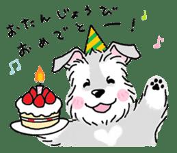 Miniature Schnauzer SYU-chan sticker #10959149