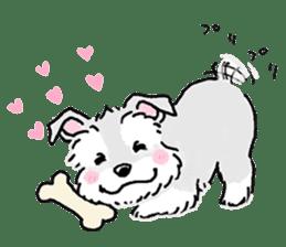 Miniature Schnauzer SYU-chan sticker #10959151
