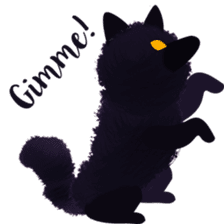 Darkie the wolf sticker #10959667