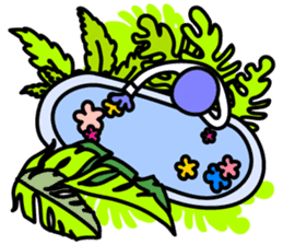 LAZY ALIENS - BRIGHTEST MOMENT OF LIFE sticker #10961517