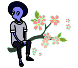 LAZY ALIENS - BRIGHTEST MOMENT OF LIFE sticker #10961532