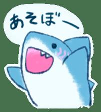 Cuddly Shark (everyday conversation) sticker #10965768