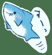 Cuddly Shark (everyday conversation) sticker #10965771