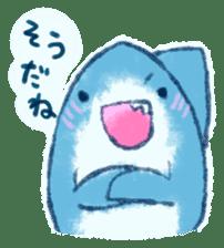 Cuddly Shark (everyday conversation) sticker #10965772
