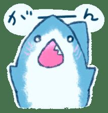 Cuddly Shark (everyday conversation) sticker #10965773