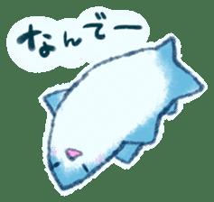 Cuddly Shark (everyday conversation) sticker #10965774