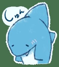 Cuddly Shark (everyday conversation) sticker #10965775