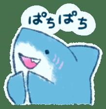 Cuddly Shark (everyday conversation) sticker #10965778