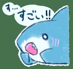 Cuddly Shark (everyday conversation) sticker #10965781