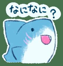 Cuddly Shark (everyday conversation) sticker #10965782