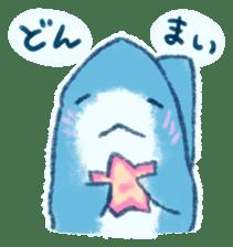 Cuddly Shark (everyday conversation) sticker #10965783