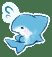 Cuddly Shark (everyday conversation) sticker #10965784