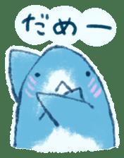 Cuddly Shark (everyday conversation) sticker #10965786