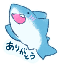 Cuddly Shark (everyday conversation) sticker #10965787