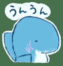 Cuddly Shark (everyday conversation) sticker #10965788