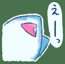 Cuddly Shark (everyday conversation) sticker #10965789