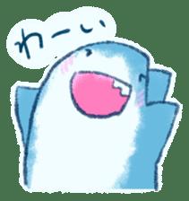 Cuddly Shark (everyday conversation) sticker #10965791