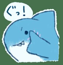 Cuddly Shark (everyday conversation) sticker #10965792