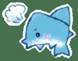 Cuddly Shark (everyday conversation) sticker #10965793