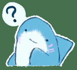 Cuddly Shark (everyday conversation) sticker #10965795