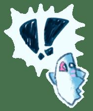 Cuddly Shark (everyday conversation) sticker #10965796