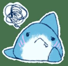 Cuddly Shark (everyday conversation) sticker #10965797