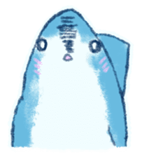 Cuddly Shark (everyday conversation) sticker #10965798