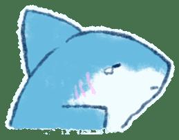 Cuddly Shark (everyday conversation) sticker #10965799