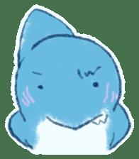Cuddly Shark (everyday conversation) sticker #10965800
