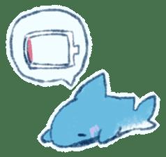 Cuddly Shark (everyday conversation) sticker #10965802