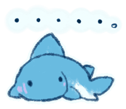 Cuddly Shark (everyday conversation) sticker #10965803