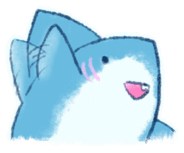 Cuddly Shark (everyday conversation) sticker #10965804