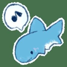 Cuddly Shark (everyday conversation) sticker #10965805