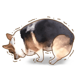 Dangerous Corgi 2 sticker #10968254