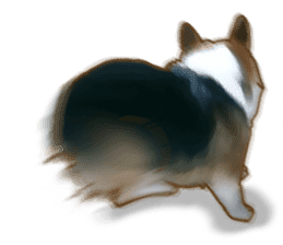 Dangerous Corgi 2 sticker #10968261