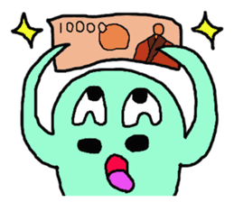 Nyoro Ghost2 sticker #10969663