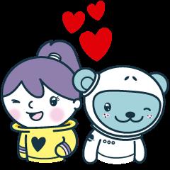 Jokukuma in Love