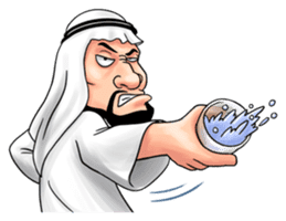 Handsome Uncle from Middle East sticker #10978217